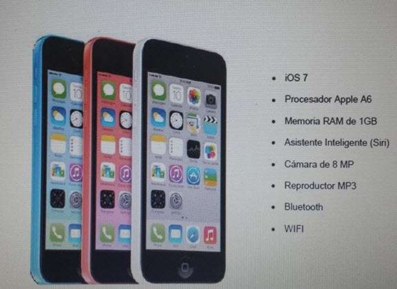 iPhone 5C Claro Panama
